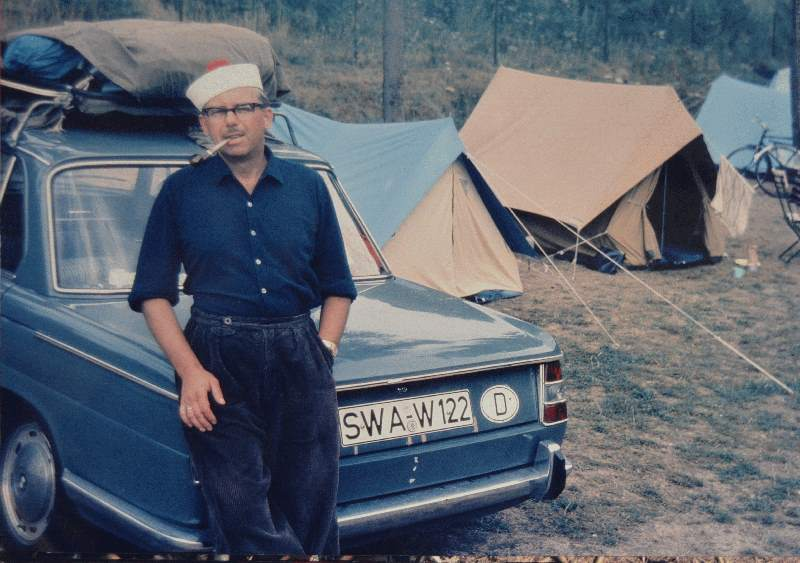 Camping Luxembourg 1960